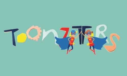Toonzetters logo groen
